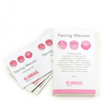 Blomdahl Piercing Aftercare 24 Wipes