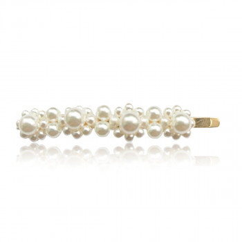 Everneed Pretty Candycade - Hair Clip With Pearls Gold